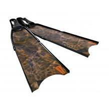 Leaderfins Brown Camouflage Pro Spearfishing Fins