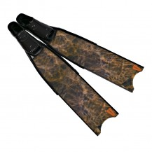 Leaderfins Brown Camouflage Pro Spearfihing Fins