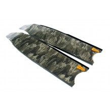 Leaderfins Green Camouflage Pro Spearfishing Blades