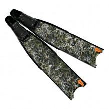 Leaderfins Alga Camouflage 3D Spearfihing Fins