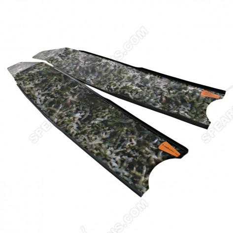 Leaderfins Alga Camouflage 3D Spearfihing Blades