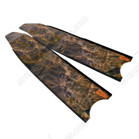 Leaderfins Brown Camouflage Pro Spearfihing Blades