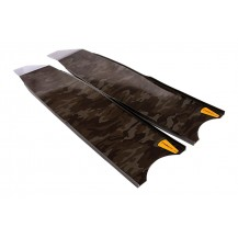 Leaderfins Carbon Camouflage Spearfishing Blades
