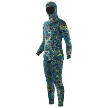 Elios Blue Reef Camo Spearfishing Wetsuit