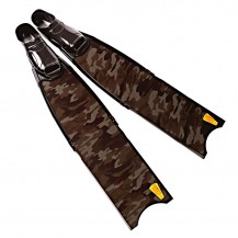 Carbon Camouflage Spearfishing Fins