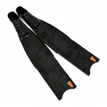 Black Camouflage Pro Spearfihing Fins